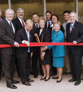Science Building Ribbon Cutting